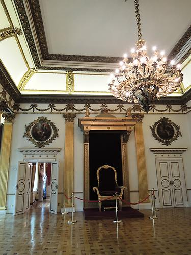 Dublin Castle, Throne-Room