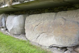 Knowth  - Kerbstone (1)