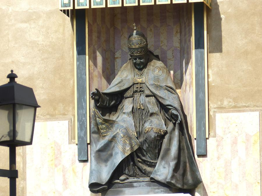 Bergamo - Monument of Pope John XXIII