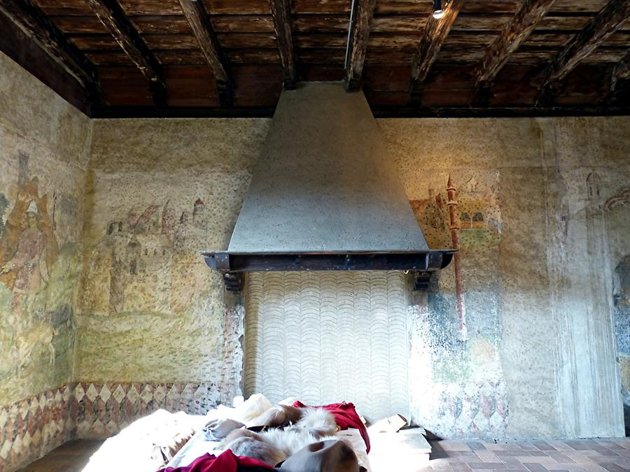 Malpaga Castle - Bedroom and Death Chamber of Colleoni