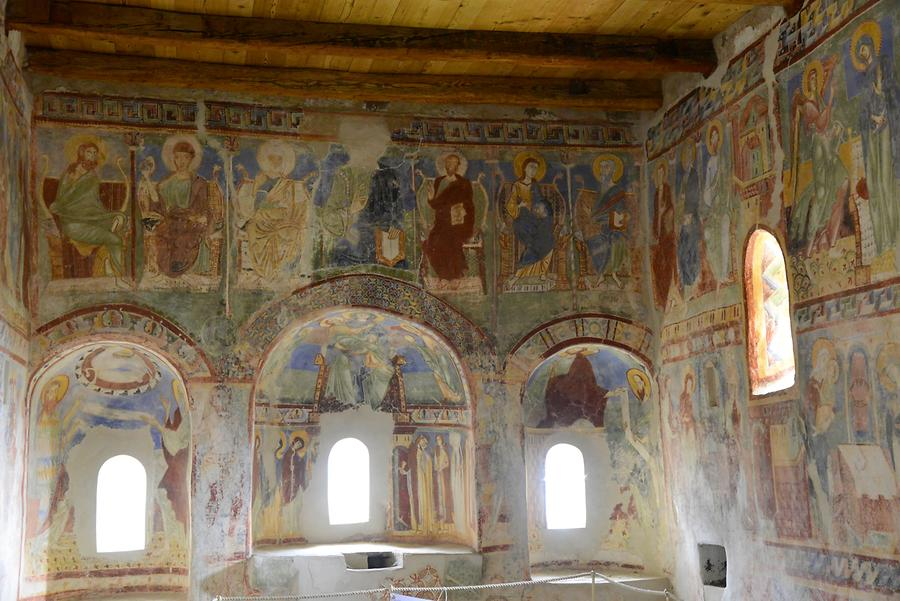 Hocheppan Castle - Frescoes