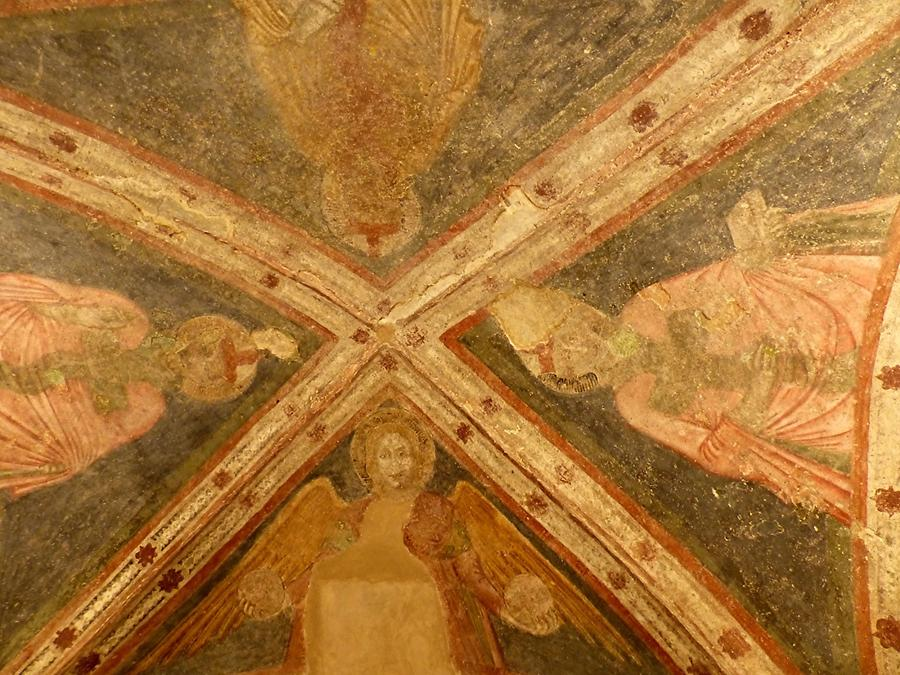 Brescia - Old Cathedral, Frescoes