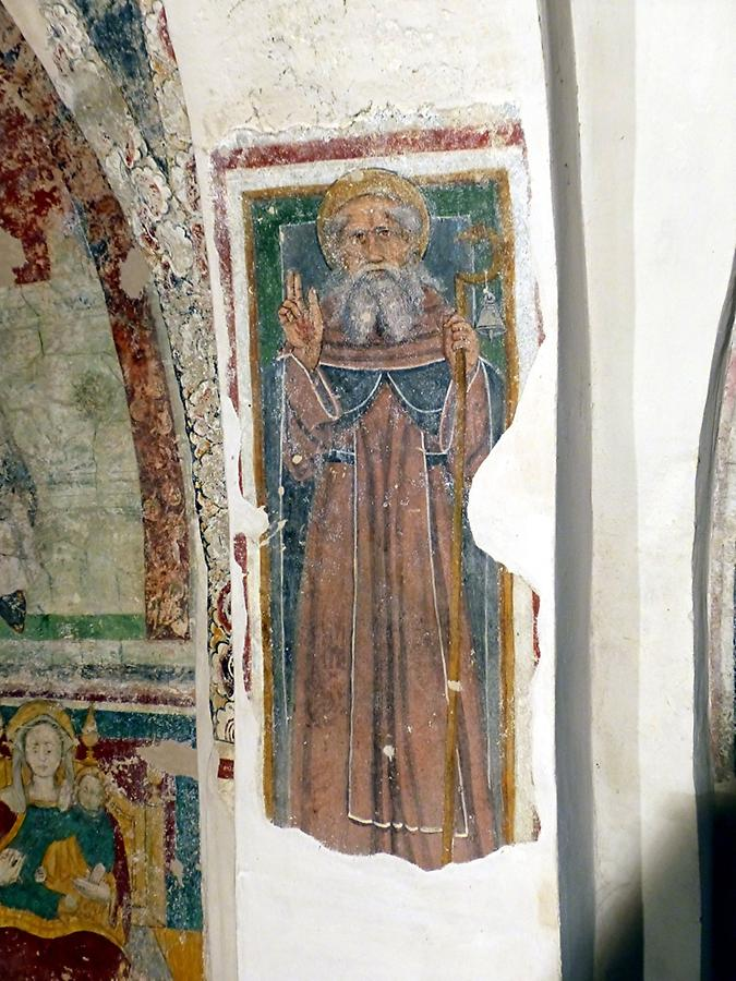 San Pietro in Lamosa - Fresco