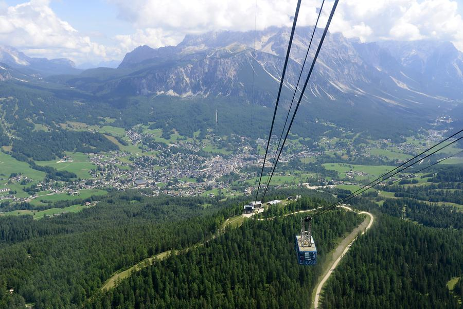 Tofane - Cable Car