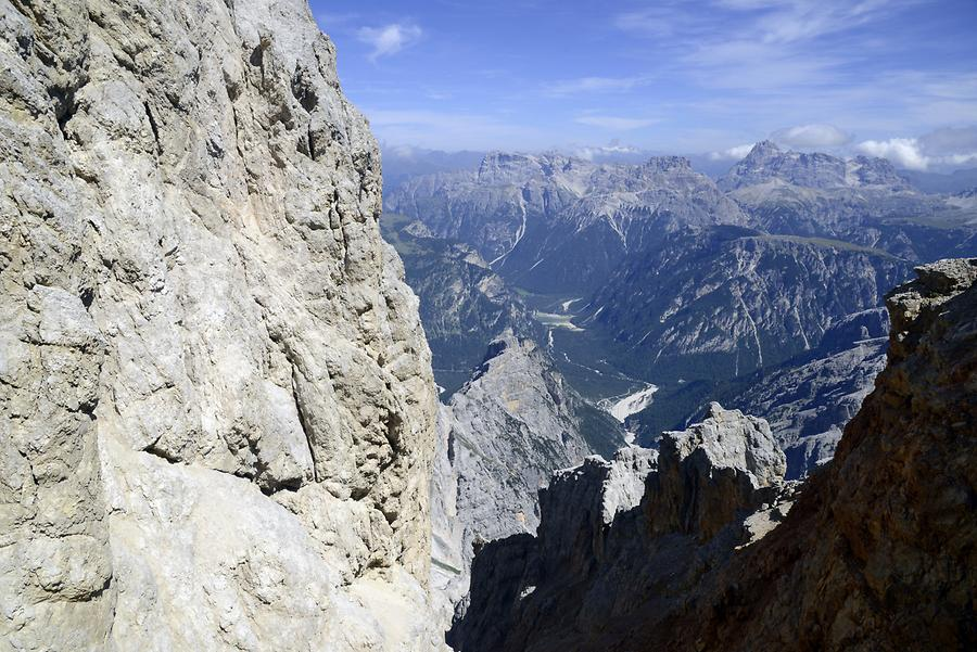 View from Forcella Staunies