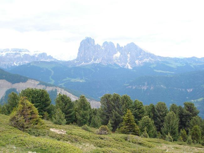 Mountains near Val Gardena