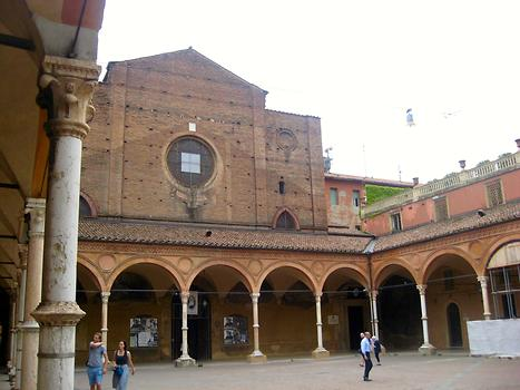 Santa Maria dei Servi church, Bologna, Italy. 2016. Photo: Clara Schultes