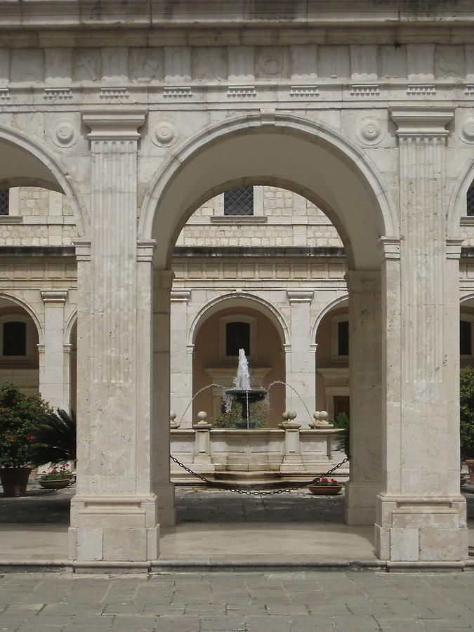 Cassino - Abbey of Monte Cassino, Third Cloister