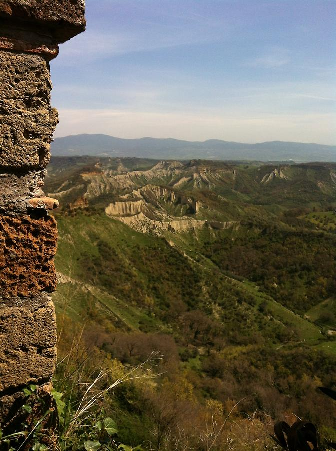 Civita di Bagnoregio - Erosion Valleys
