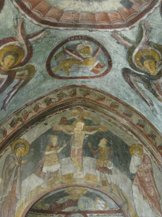 Subiaco - St. Benedict's Abbey, Fresco in the Lower Church