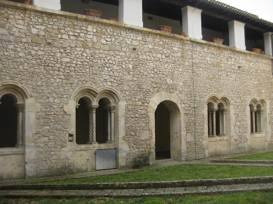 Veroli - Abbey of Casamari, Cloister