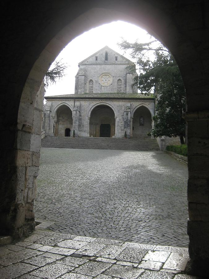 Veroli - Abbey of Casamari