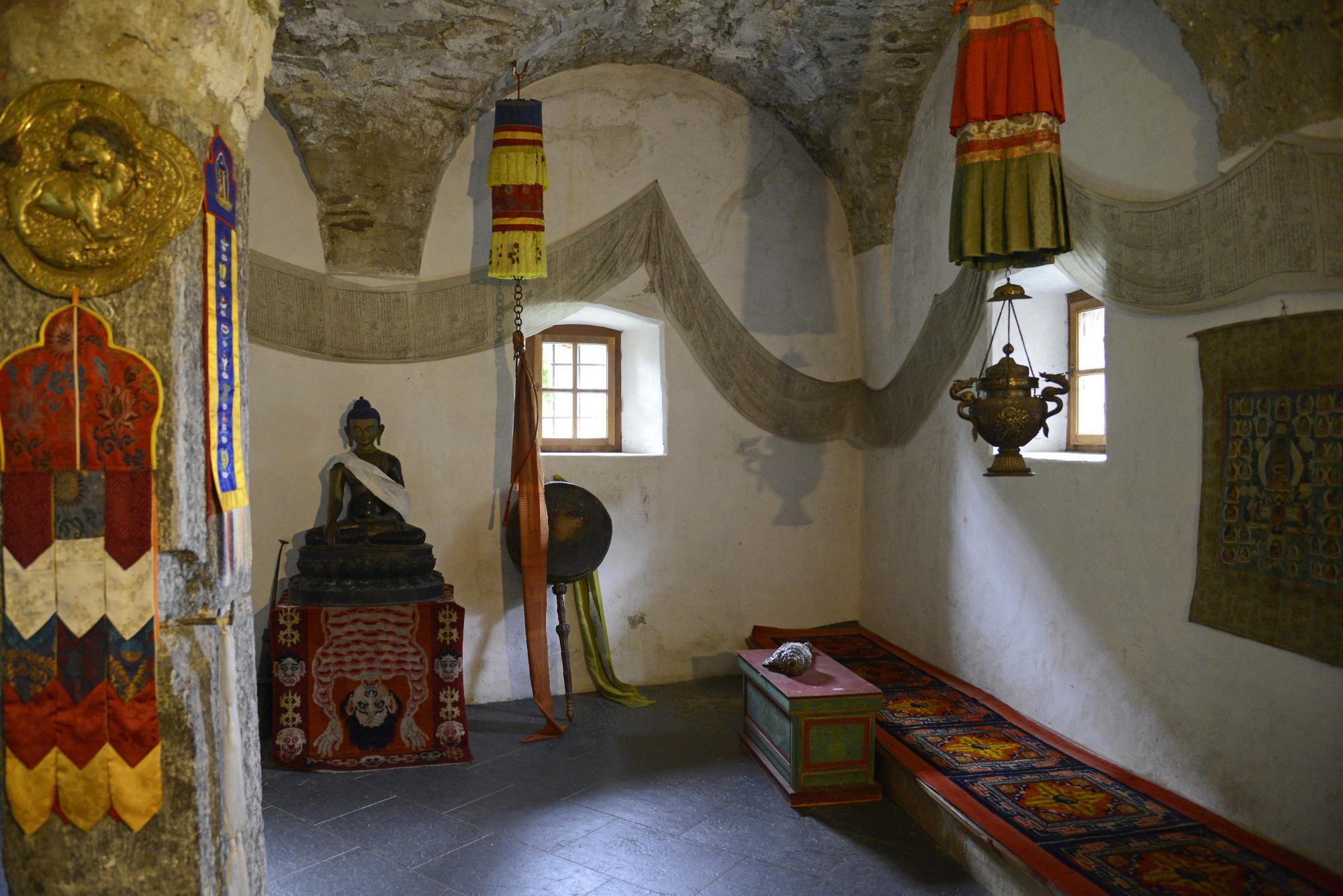 Juval Castle   Meditation Room