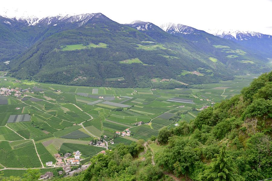 View of the Val d'Adige