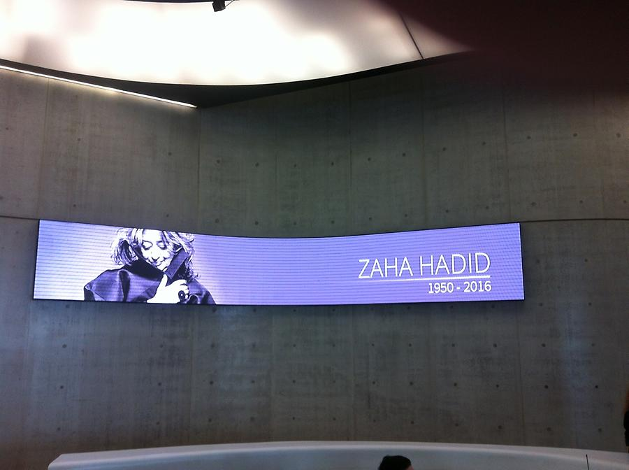 Rome - MAXXI – Diapositive in Memory of Zaha Hadid