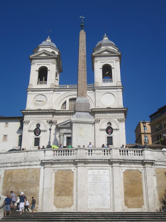 Church on top of the Spanish Steps
