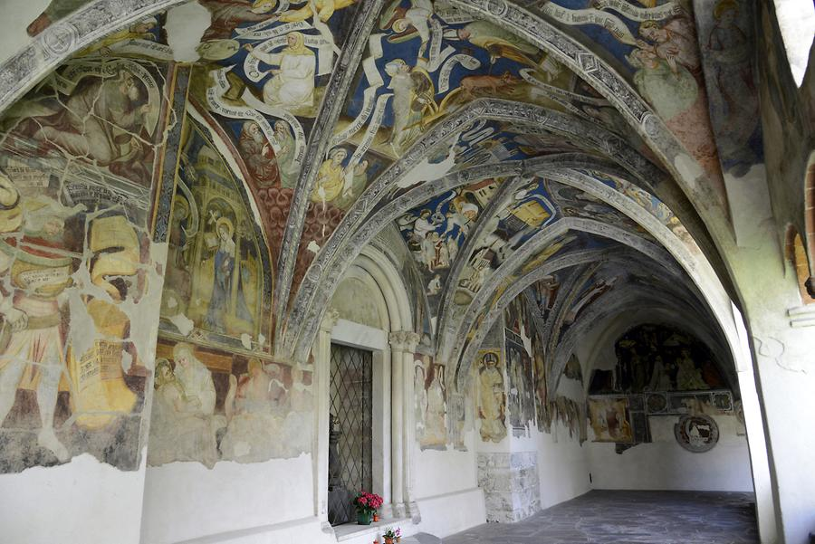 Brixen - Cathedral, Cloister