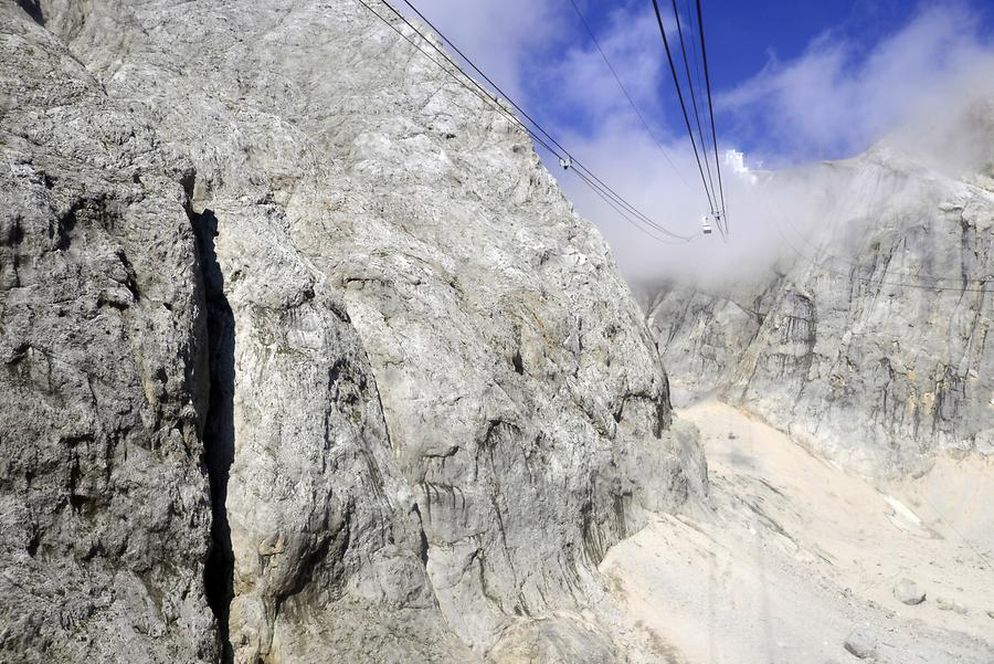 Marmolada - Cable Car