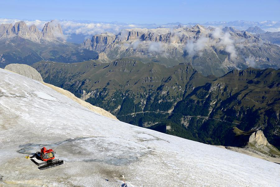 Sella Group - Marmolada Glacier