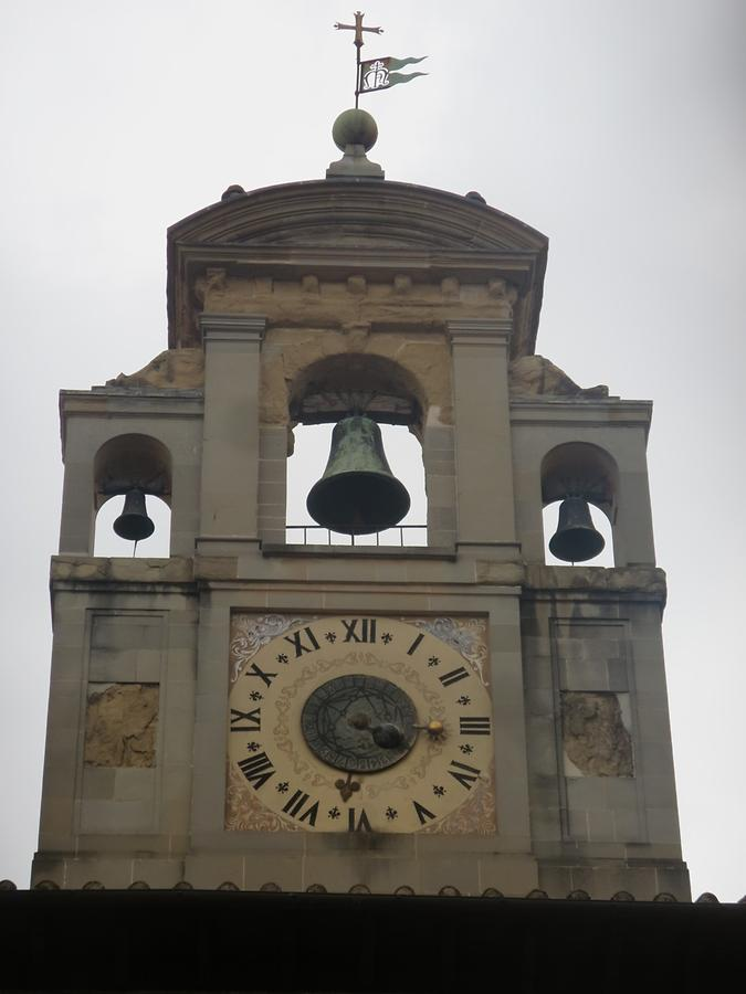 Arezzo - Palace of the Lay Fraternity; Clock