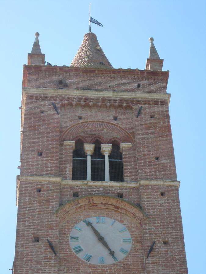 Asciano - Abbey of Monte Oliveto Maggiore ; Bell Tower