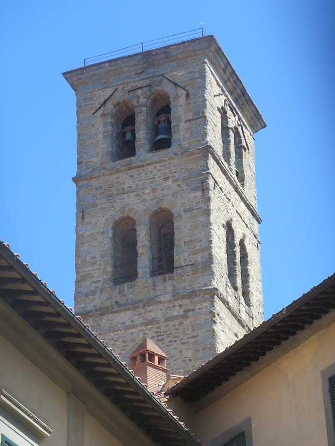 Cortona - Cathedral; Bell Tower