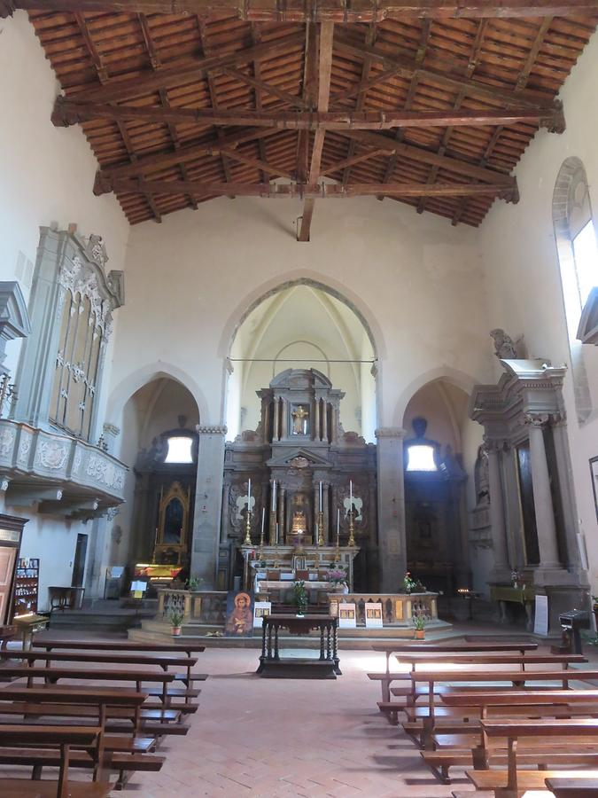 Cortona - Church of San Francesco