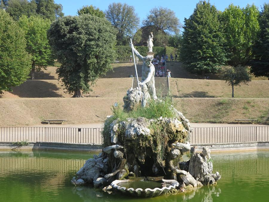 Florence - Boboli Gardens; Fountain of Neptune