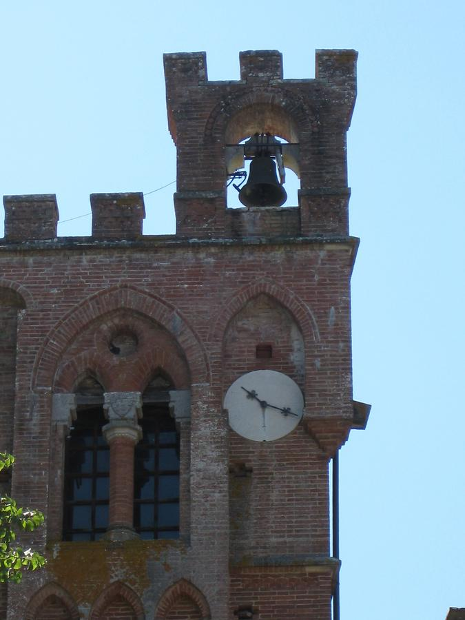 Gaiole in Chianti - Castello di Brolio; Tower Clock