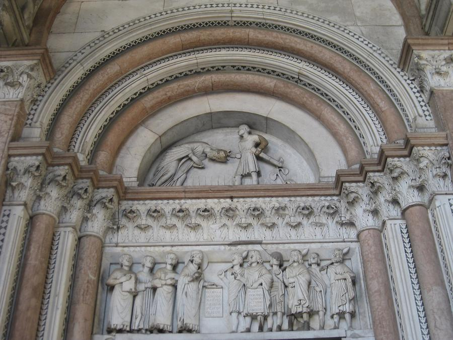 Lucca - Cathedral; Relief