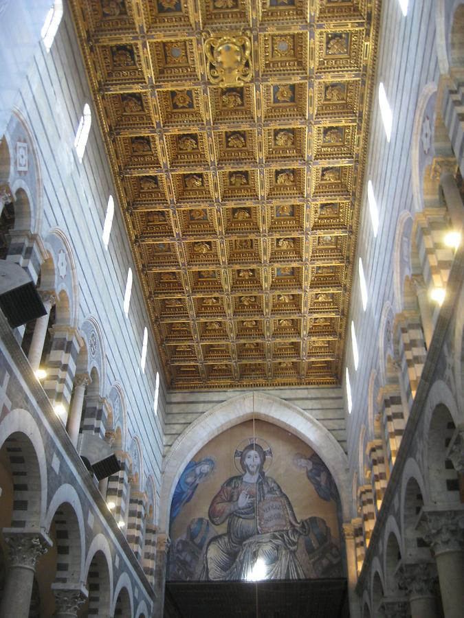 Pisa - Cathedral; Ceiling