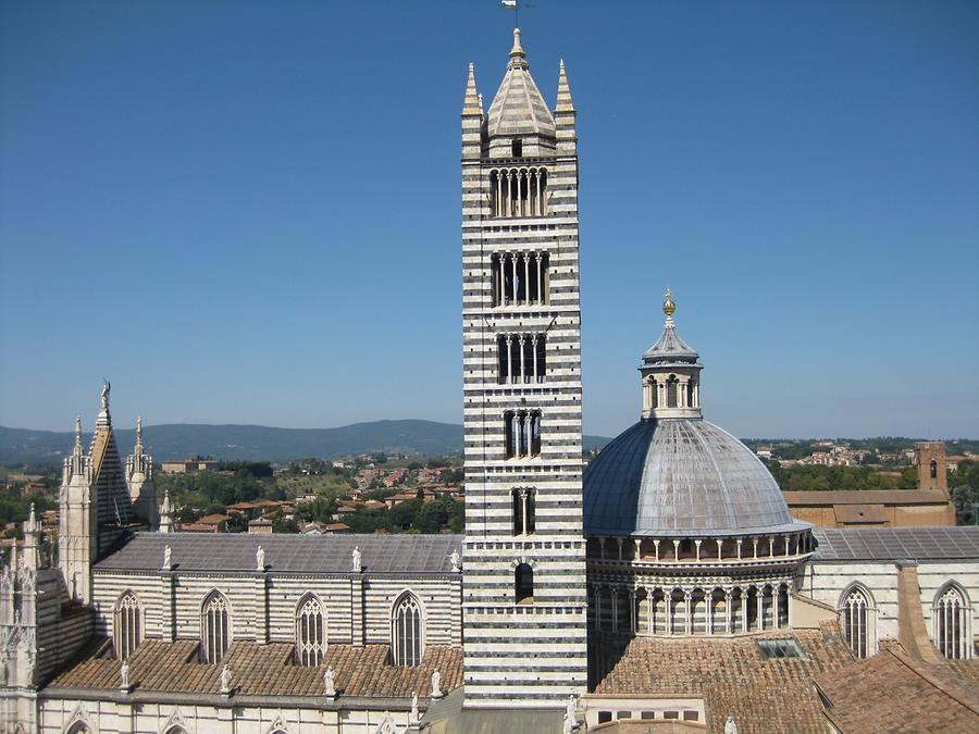 Siena - Cathedral and Bell Tower