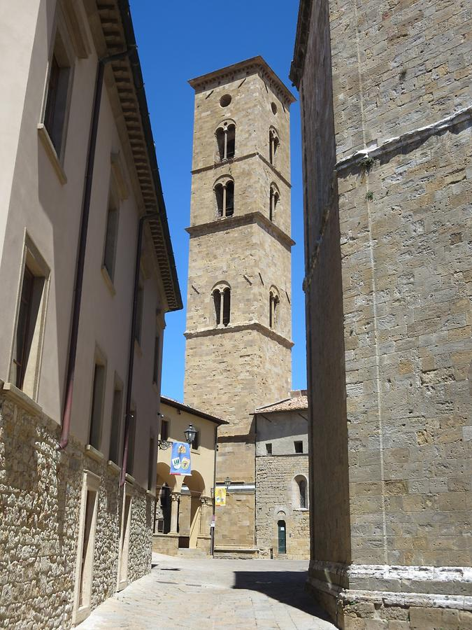 Volterra - Cathedral; Bell Tower