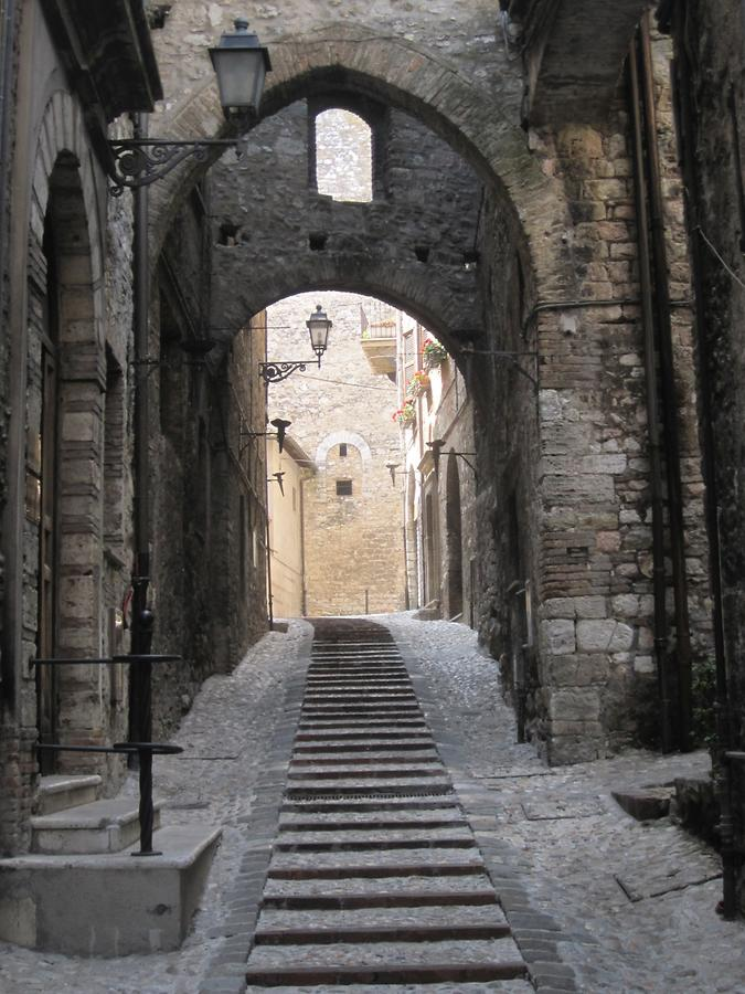 Narrow street in Narni