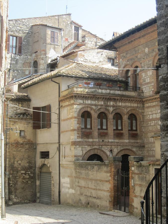 Medieval building in Narni
