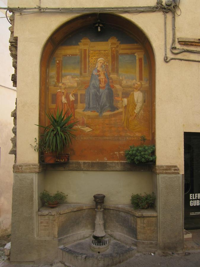 Wayside Mother of God in Spello