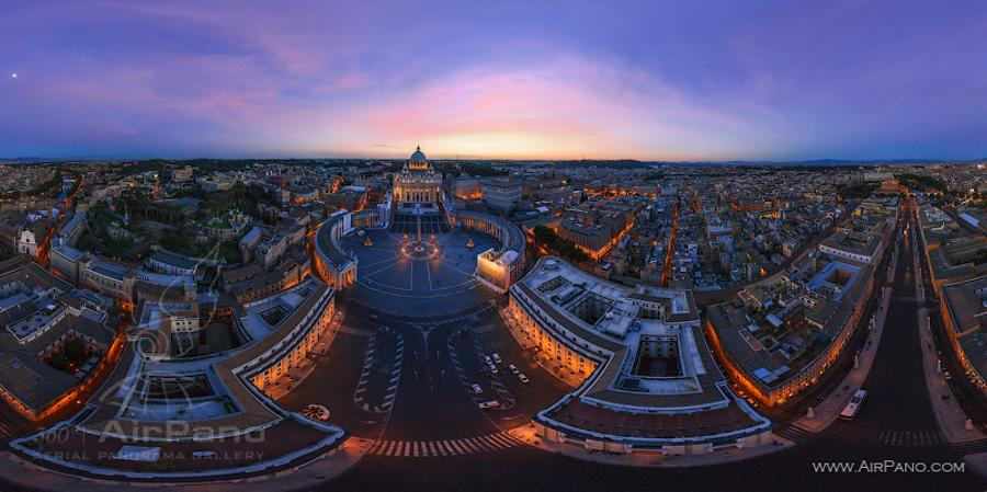 St Peter_s Basilica and Saint Peter_s Square