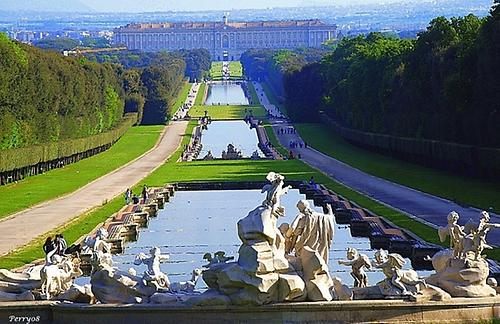 The Reggia of Caserta and its park