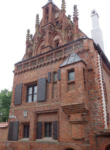 Typical brick house, Photo: Hermann Maurer , 2016