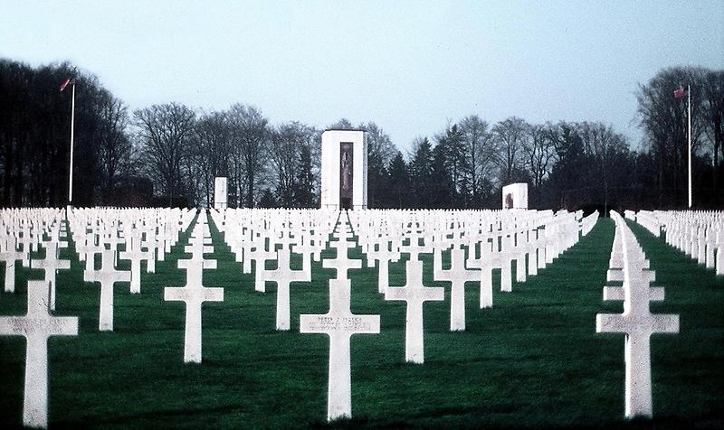 Graves at the Luxembourg