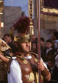 Roman legionaries show this power