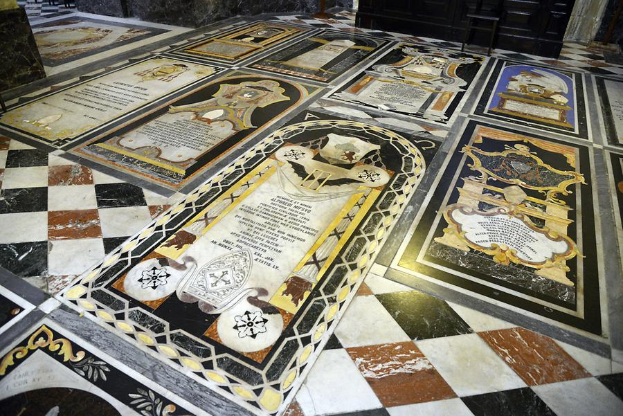 Mdina Cathedral & Museum - Grave Slabs