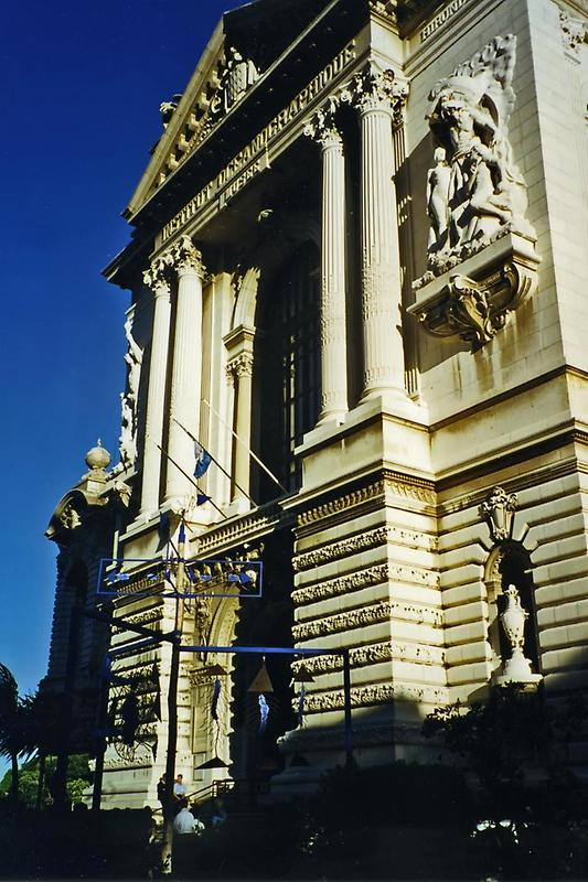 Entrance to the Musee Oceanographie