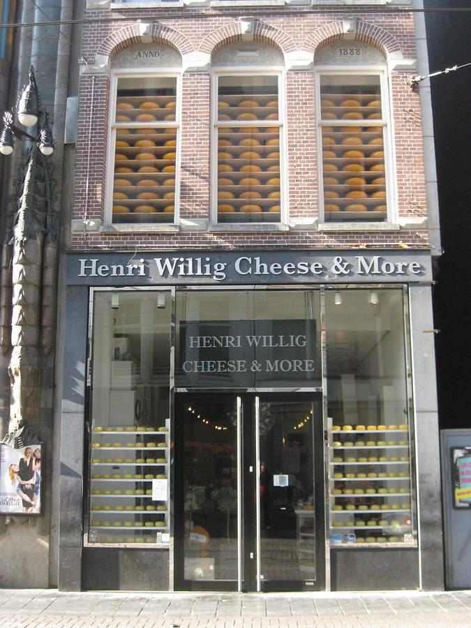 Amsterdam - Kalverstraat - Henri Willig Cheese & More