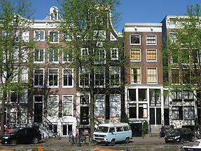 Amsterdam - Patrician Houses along a Gracht (2)