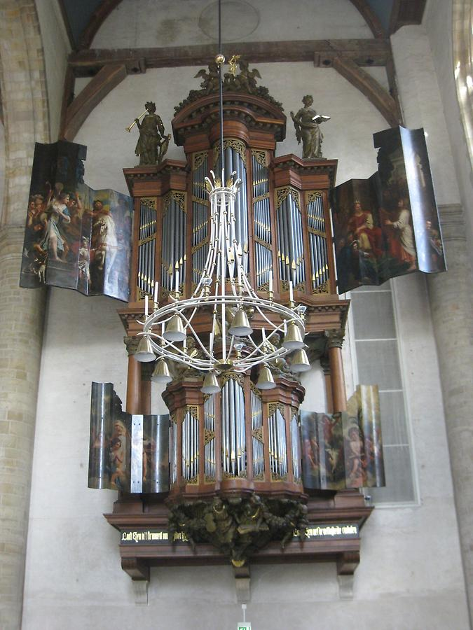 Middelburg - The Abbey of our Lady, New Church, Organ