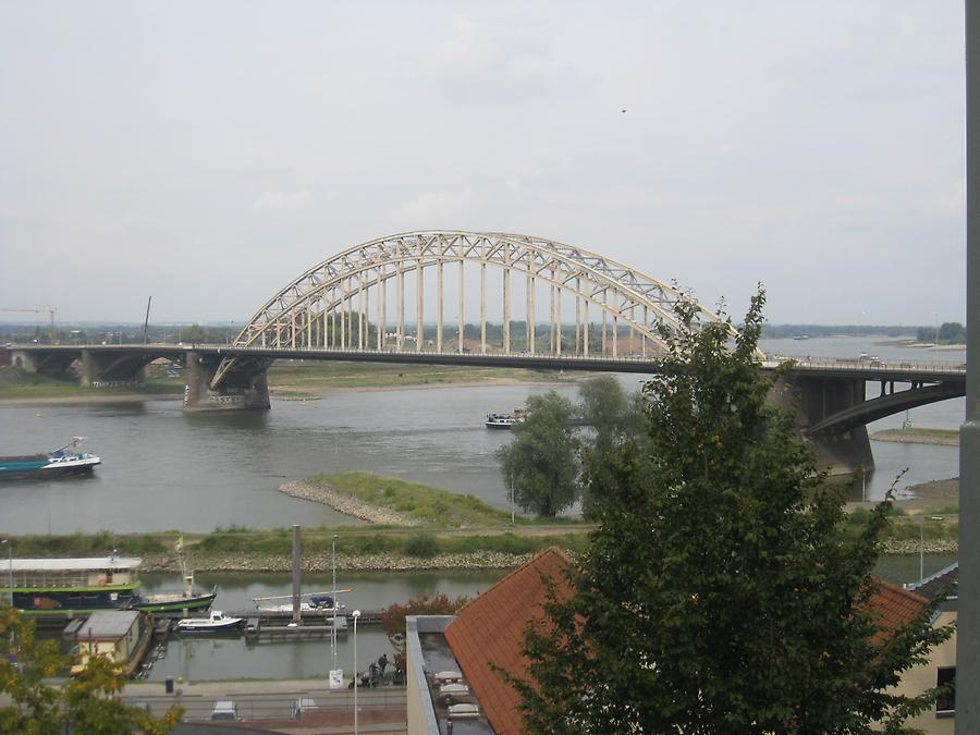 Nijmegen - Valkhof, View of River Waal