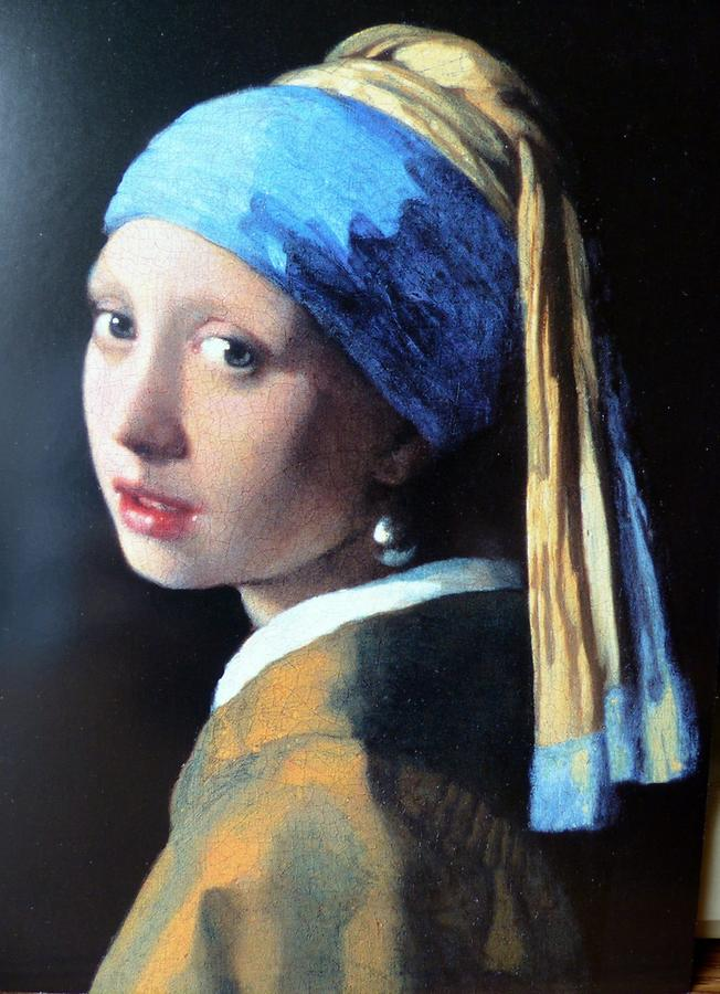 Delft - Vermeer Centre; 'Girl with a Pearl Earring'