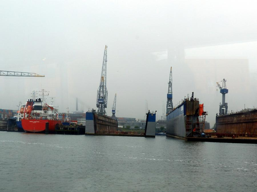 Rotterdam - Harbour Tour; Dry Docks