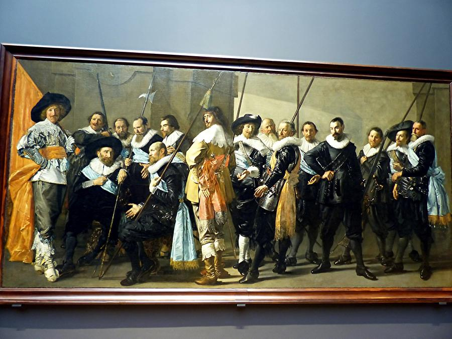 Amsterdam - Rijksmuseum; ' De Magere Compagnie', Frans Hals, finished by Pieter Codde
